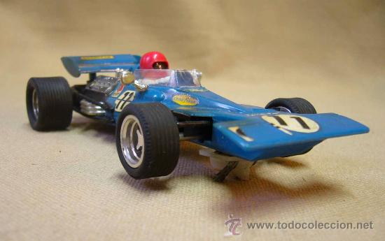 COCHE F1, SLOT, SCALEXTRIC. MODELO TYRRELL FORD, REFERENCIA C 48 (Juguetes - Slot Cars - Scalextric Exin)