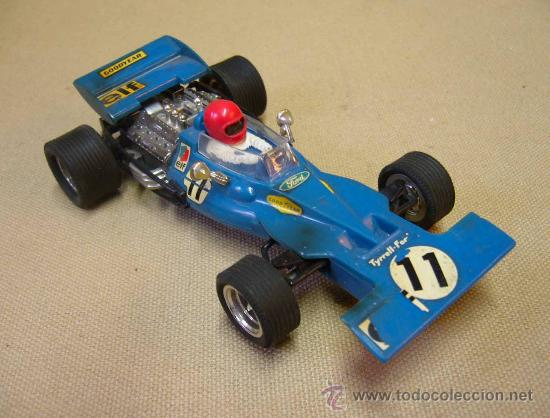 Scalextric: COCHE F1, SLOT, SCALEXTRIC. MODELO TYRRELL FORD, REFERENCIA C 48 - Foto 2 - 30023776
