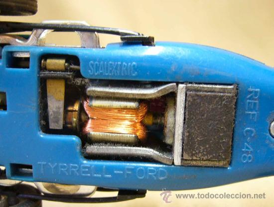 Scalextric: COCHE F1, SLOT, SCALEXTRIC. MODELO TYRRELL FORD, REFERENCIA C 48 - Foto 9 - 30023776