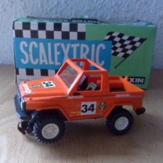 Scalextric: MERCEDES NARANJA JAGERMEIFTER STS SCALEXTRIC EXIN AÑOS 80. Lote 33023327
