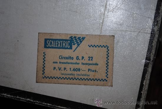 Scalextric: SCALEXTRIC EXIN GP 22 AÑO 1968 Y AMPLIACION Nº 3. TOTALMENTE DE EPOCA. MUY AMPLIADO - Foto 13 - 204619592
