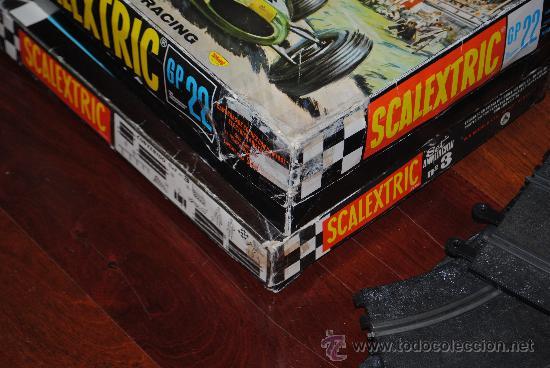 Scalextric: SCALEXTRIC EXIN GP 22 AÑO 1968 Y AMPLIACION Nº 3. TOTALMENTE DE EPOCA. MUY AMPLIADO - Foto 11 - 204619592