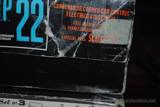 Scalextric: SCALEXTRIC EXIN GP 22 AÑO 1968 Y AMPLIACION Nº 3. TOTALMENTE DE EPOCA. MUY AMPLIADO - Foto 10 - 204619592