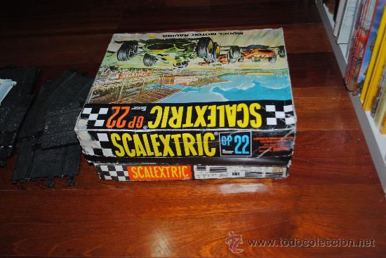 Scalextric: SCALEXTRIC EXIN GP 22 AÑO 1968 Y AMPLIACION Nº 3. TOTALMENTE DE EPOCA. MUY AMPLIADO - Foto 8 - 204619592