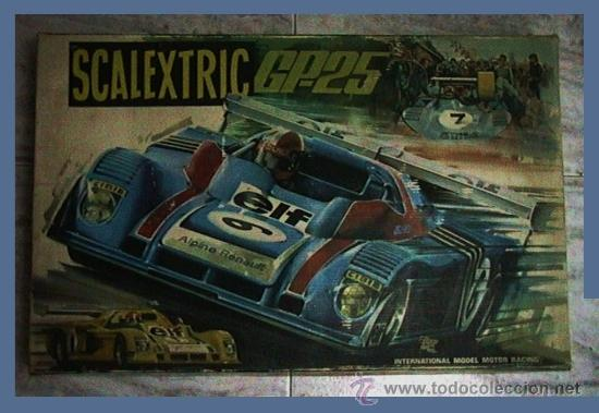 SCALEXTRIC EXIN RENAULT ALPINE GP-25 (Juguetes - Slot Cars - Scalextric Exin)