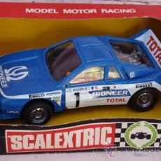 Scalextric: SCALEXTRIC EXIN LANCIA RALLY 037 REF. 4074 CON CAJA MADE IN SPAIN. Lote 34737825