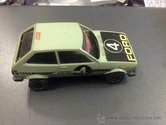 FORD FIESTA - SCALEXTRIC EXIN - REF. 4057 - NO TIENE MOTOR. (Juguetes - Slot Cars - Scalextric Exin)