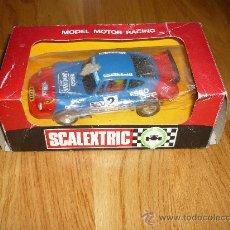 Scalextric: SCALEXTRIC PORCHE JOCAVI REF. 4066 ORIGINAL EXIN CON CAJA. Lote 38424926