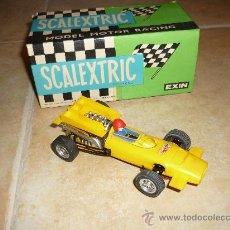 Scalextric: COCHE SCALEXTRIC MC LAREN DE EXIN AMARILLO CON CAJA. Lote 38615963