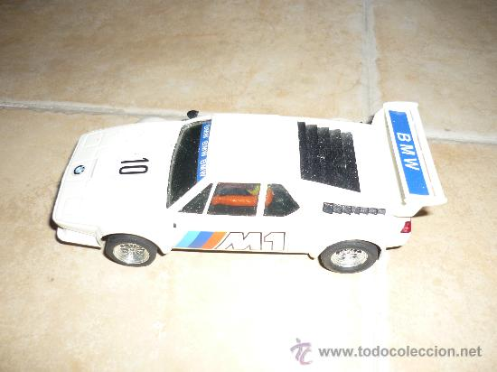 COCHE DE SCALEXTRIC EXIN BMW M1 BLANCO SERIE. REF.4064 (Juguetes - Slot Cars - Scalextric Exin)