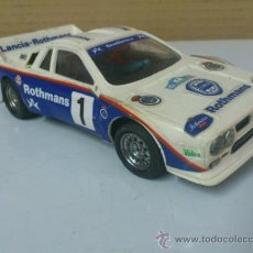 Scalextric: . COCHE SCALEXTRIC LANCIA ROTHMANS RALLY 037 .MADE IN SPAIN. FUNCIONA.. Lote 38999007