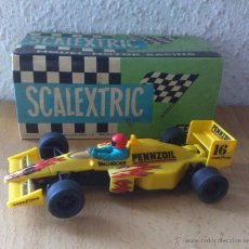 Scalextric: DIFICIL MCLAREN MP4 PENNZOIL SCALEXTRIC EXIN. Lote 57518534