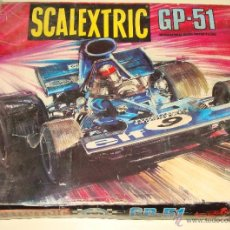 Scalextric: CAJA SCALEXTRIC GP - 51. EXIN. + DOCUMENTOS FORD TYRRELL. AÑO 1975. PISTAS. SIN COCHES. Lote 40391876