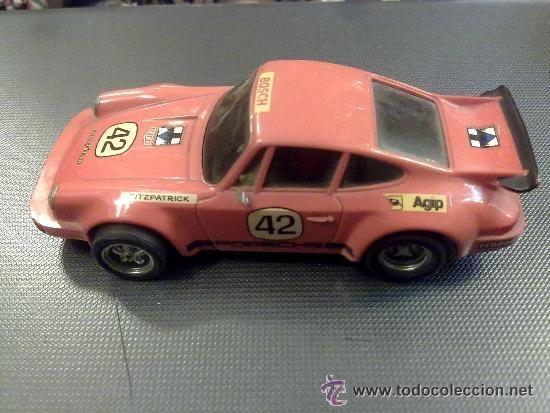 Scalextric: SCALEXTRIC -scalextric coche porsche carrera rs ref 4051 rojo - Foto 5 - 246717505