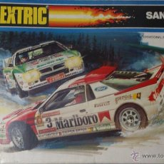 Scalextric: SCALEXTRIC SAN REMO EXIN 1990 LANCIA 037 SALVADOR CANELLAS FORD RS 200. Lote 42274837
