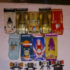 Scalextric: LOTE DE SCALEXTRIC SRS. Lote 42316467
