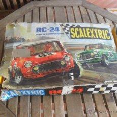 Scalextric: CIRCUITO RC 24 DE LOS MINI COOPER DE SCALEXTRIC EXIN. Lote 42951043
