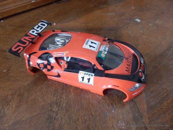 SCALEXTRIC CARROCERIA SEAT LEON NUEVA (Juguetes - Slot Cars - Scalextric Exin)