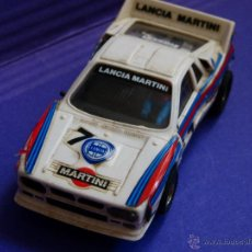 Scalextric: SCALEXTRIC LANCIA MARTINI (LANCIA RALLY 037 - REF 4073 / 74 / 76. Lote 43592886