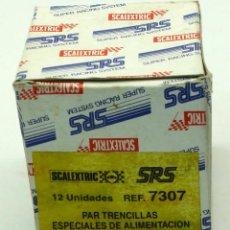 Scalextric: CAJA VACÍA SCALEXTRIC PAR TRENCILLAS ESPECIALES ALIMENTACIÓN. Lote 44854511