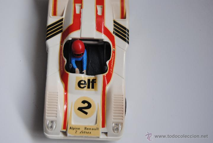 Scalextric: COCHE SCALEXTRIC ALPINE RENAULT 2000 TURBO REF.4053 MADE IN SPAIN - Foto 3 - 44858031