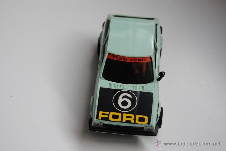 COCHE SCALEXTRIC FORD FIESTA REF 4057 MADE IN SPAIN (Juguetes - Slot Cars - Scalextric Exin)