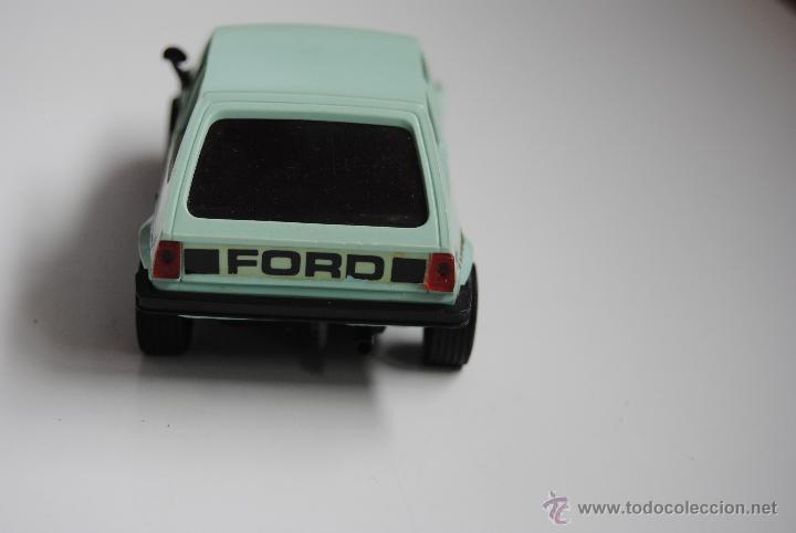 Scalextric: COCHE SCALEXTRIC FORD FIESTA REF 4057 MADE IN SPAIN - Foto 3 - 44858097