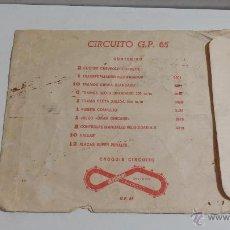 Scalextric: SOBRE DE CIRCUITO GP 65 VACIO . Lote 45656886
