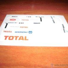 Scalextric: ADHESIVOS TROQUELADOS DE LANCIA 037 PIONNEER DE SCALEXTRIC EXIN. Lote 252047105
