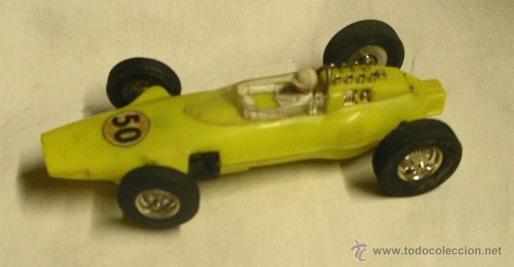 LOTUS FORMULA 1 DE JOUEF FABRICADO EN ESPAÑA (Juguetes - Slot Cars - Scalextric Exin)