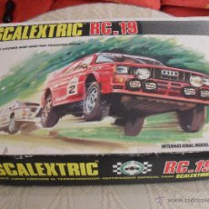 Scalextric: SCALEXTRIC RC .19. Lote 46950657