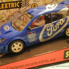 Scalextric: SCALEXTRIC TECNITOYS FORD FOCUS WRC. Lote 47461554