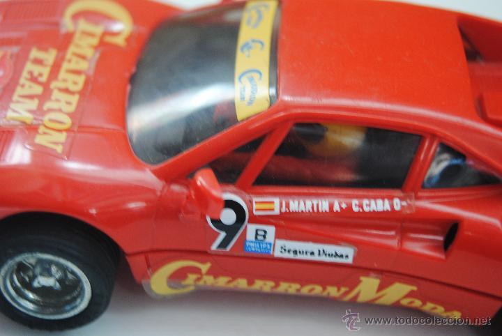 Scalextric: COCHE SCALEXTRIC FERRARI GT0 MADE IN SPAIN - Foto 6 - 47876354