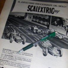 Scalextric: SCALEXTRIC, EL JUEGO MAS EMOCIONANTE DEL SIGLO.. Lote 48212145