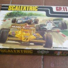 Scalextric: SCALEXTRIC GP 11 (AÑOS 70-80) EN CAJA. Lote 48480839