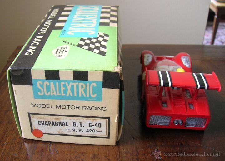 Scalextric: CHAPARRAL GT C 40 ORIGINAL EXIN CON CAJA - Foto 3 - 48572792