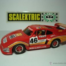 Scalextric: PORSCHE 935 MECCARILLOS DE SCALEXTRIC EXIN. Lote 48874935