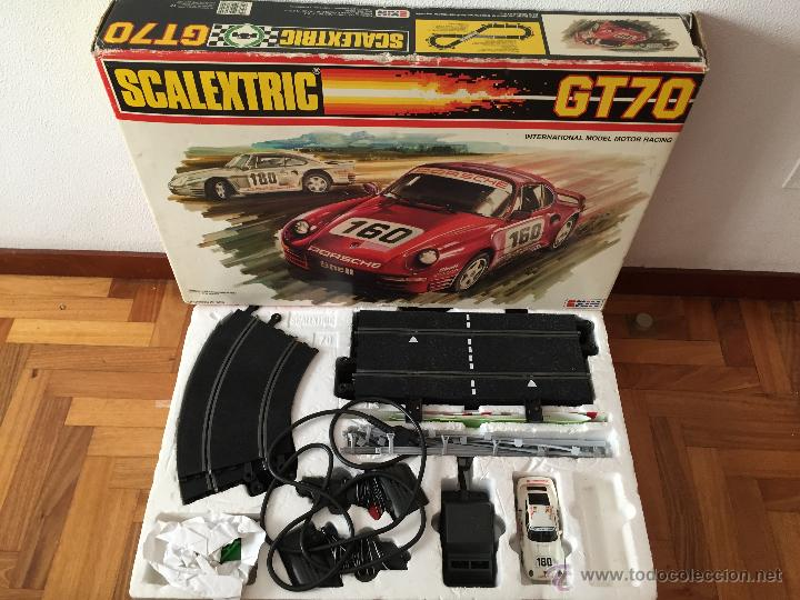 CIRCUITO SCALEXTRIC GT-70 (Juguetes - Slot Cars - Scalextric Exin)