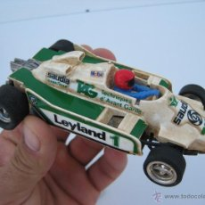 Scalextric: COCHE SCALEXTRIC ANTIGUO SAIDIA TAG MOBIL LEYLAND WILLIAMS . Lote 49893695