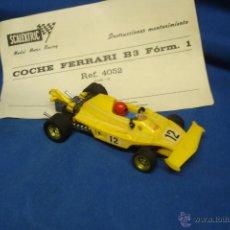 Scalextric: SCALEXTRIC - COCHE FERRARI B3 FORM. 1 - REF. 4052 - MADE IN SPAIN + MANUAL DE INSTRUCCIONES. Lote 50796188
