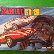 Scalextric: CAJA SCALEXTRIC EXIN GT 19 2 MERCEDES WANKEL REFERENCIA C 111 VERDE Y NARANJA. Lote 50832088