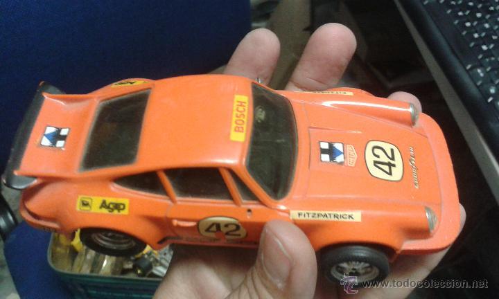Scalextric: SCALEXTRIC -scalextric coche porsche carrera rs ref 4051 rojo - Foto 3 - 246717505