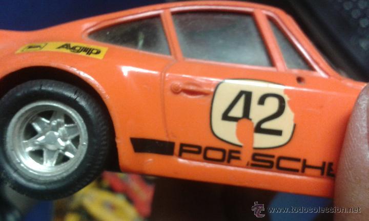 Scalextric: SCALEXTRIC -scalextric coche porsche carrera rs ref 4051 rojo - Foto 9 - 246717505