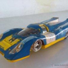 Scalextric: COCHE ANTIGUO DE SCALEXTRIC PORSCHE-917, REF. 46 EN AMARILLO - DESGUACE. Lote 51045480