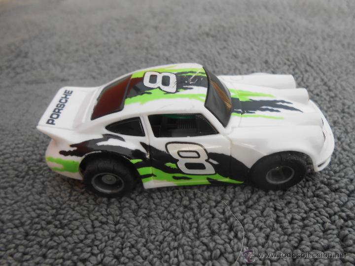 SCALEXTIC PORSCHE Nº 8 BLANCO (Juguetes - Slot Cars - Scalextric Exin)