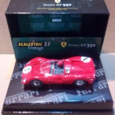 Scalextric: FERRARI GT 330 VINTAGE SCALEXTRIC SCX EXIN TRIANG TECNITOYS SRC CARTRIX REPROTEC. Lote 53669301
