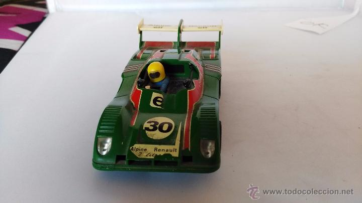 COCHE DE SCALEXTRIC EXIN RENAULT ALPINE (Juguetes - Slot Cars - Scalextric Exin)