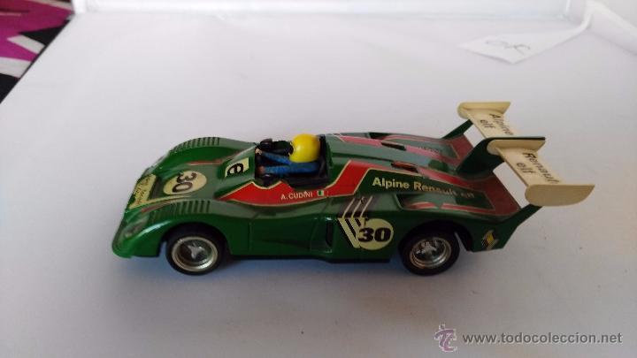 Scalextric: coche de scalextric exin renault alpine - Foto 2 - 53801755