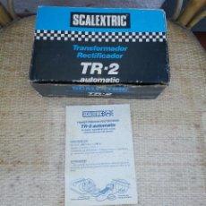 Scalextric: CAJA VACIA TRANSFORMADOR TR2, TR-2 Y INSTRUCCIONES SCALEXTRIC EXIN. Lote 54304924