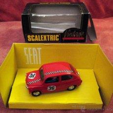 Scalextric: SCALEXTRIC VINTAGE EXIN -SEAT 600 -REF 8333 -NUMERADO, E-0239 - 1991, SIN ESTRENAR. Lote 54408773